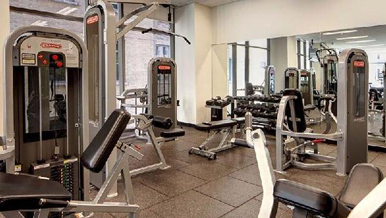 State of the art gym in 200 Squared