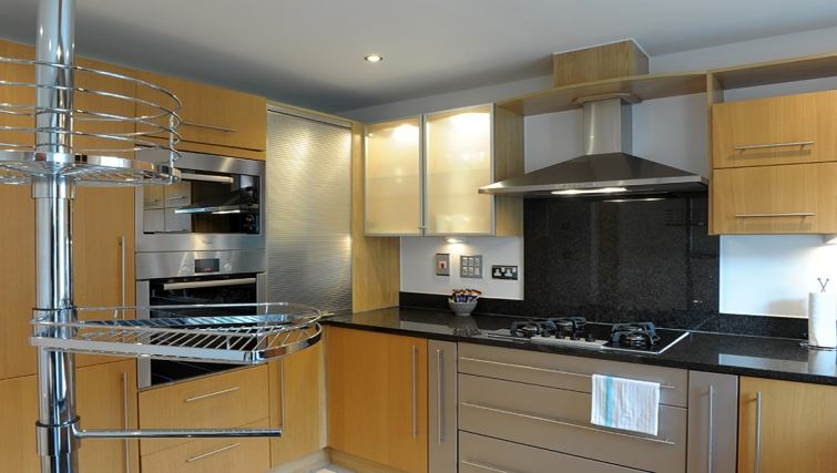 Kitchen at Floyer Apartment