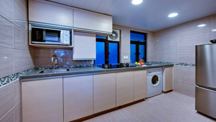 Classic kitchen in The Bauhinia Apartments