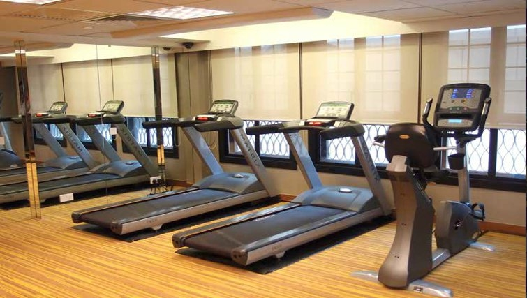 State of the art gym in The Bauhinia Apartments