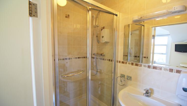 Bathroom at Hillbrook Road Apartments