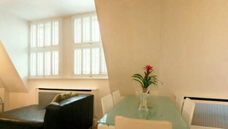 Bedroom in Barrett Street Apartment