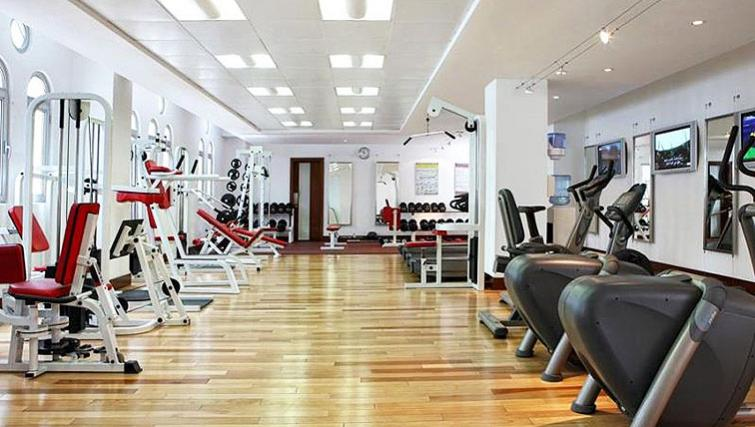 Well equipped gym at Villa Rotana Suites