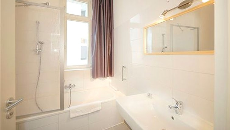 Incredible bathroom in Metzer Strasse Apartments