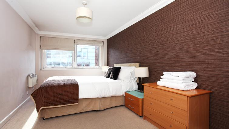 Bedroom at King Regents Place Apartments