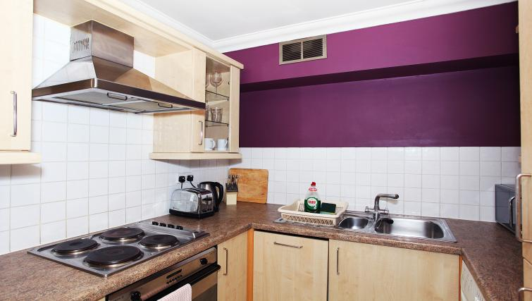Kitchen at King Regents Place Apartments