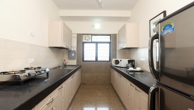 Timeless kitchen in Kalpaturu Apartments