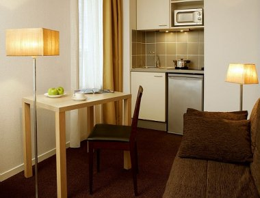 Kitchen at Adagio Access Avignon Apartments