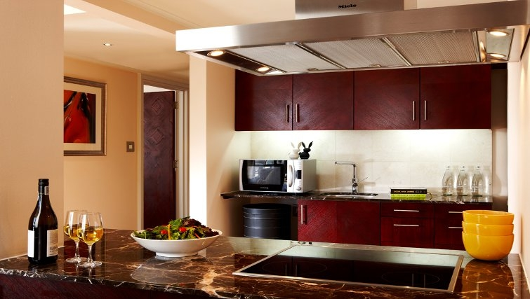 Exclusive kitchen in Taj Cape Town