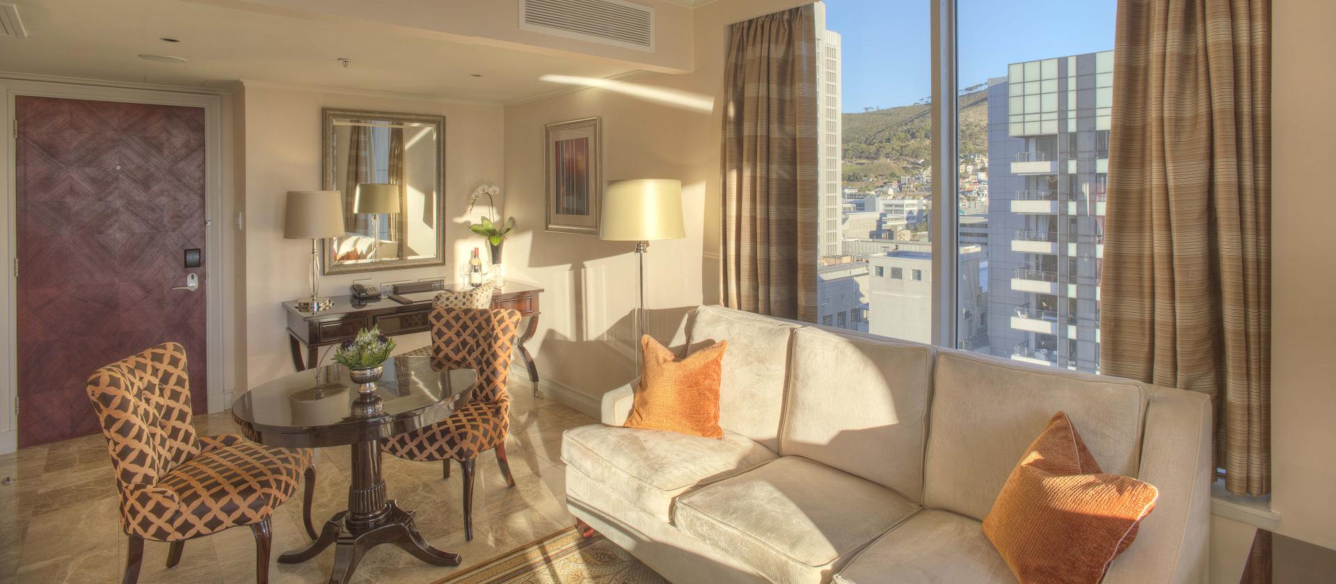 Lounge Area at Taj Cape Town, Centre, Cape Town