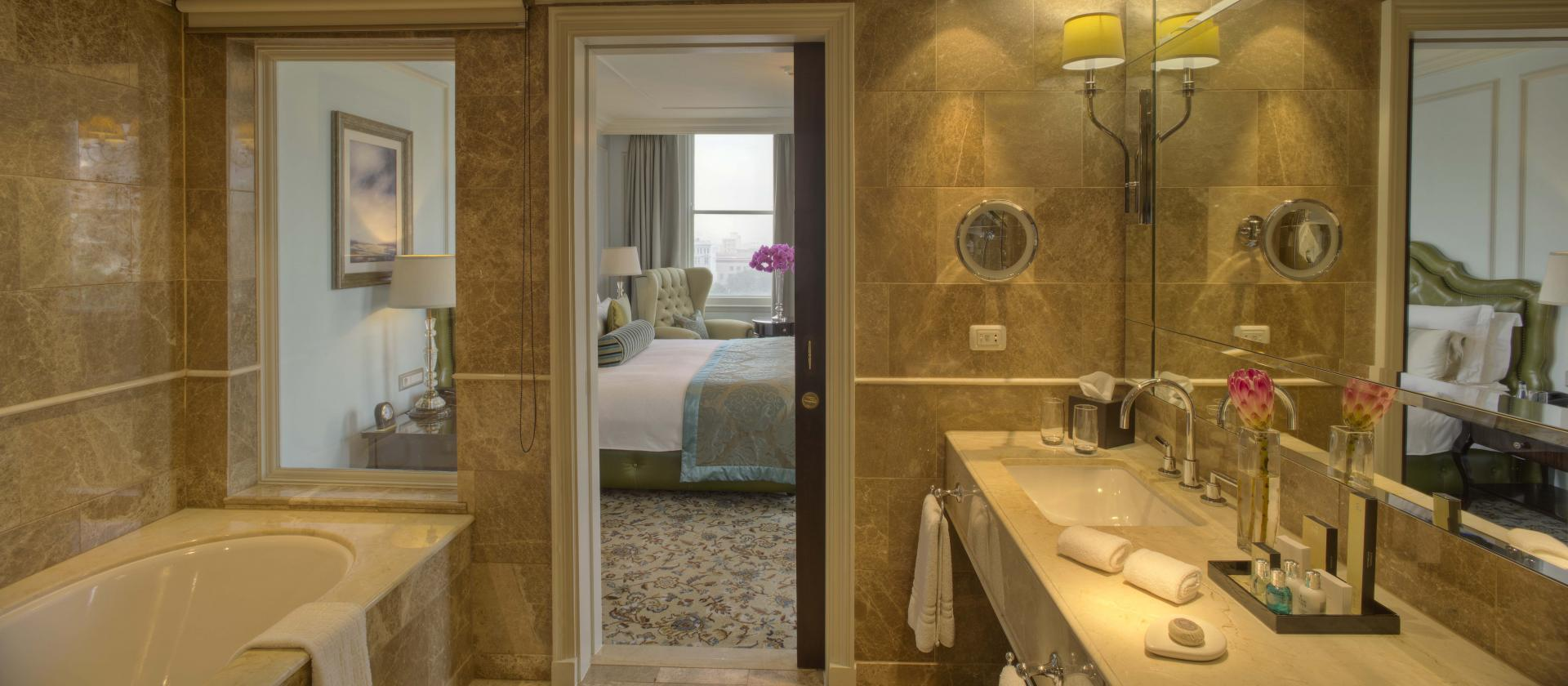 Bathroom at Taj Cape Town, Centre, Cape Town