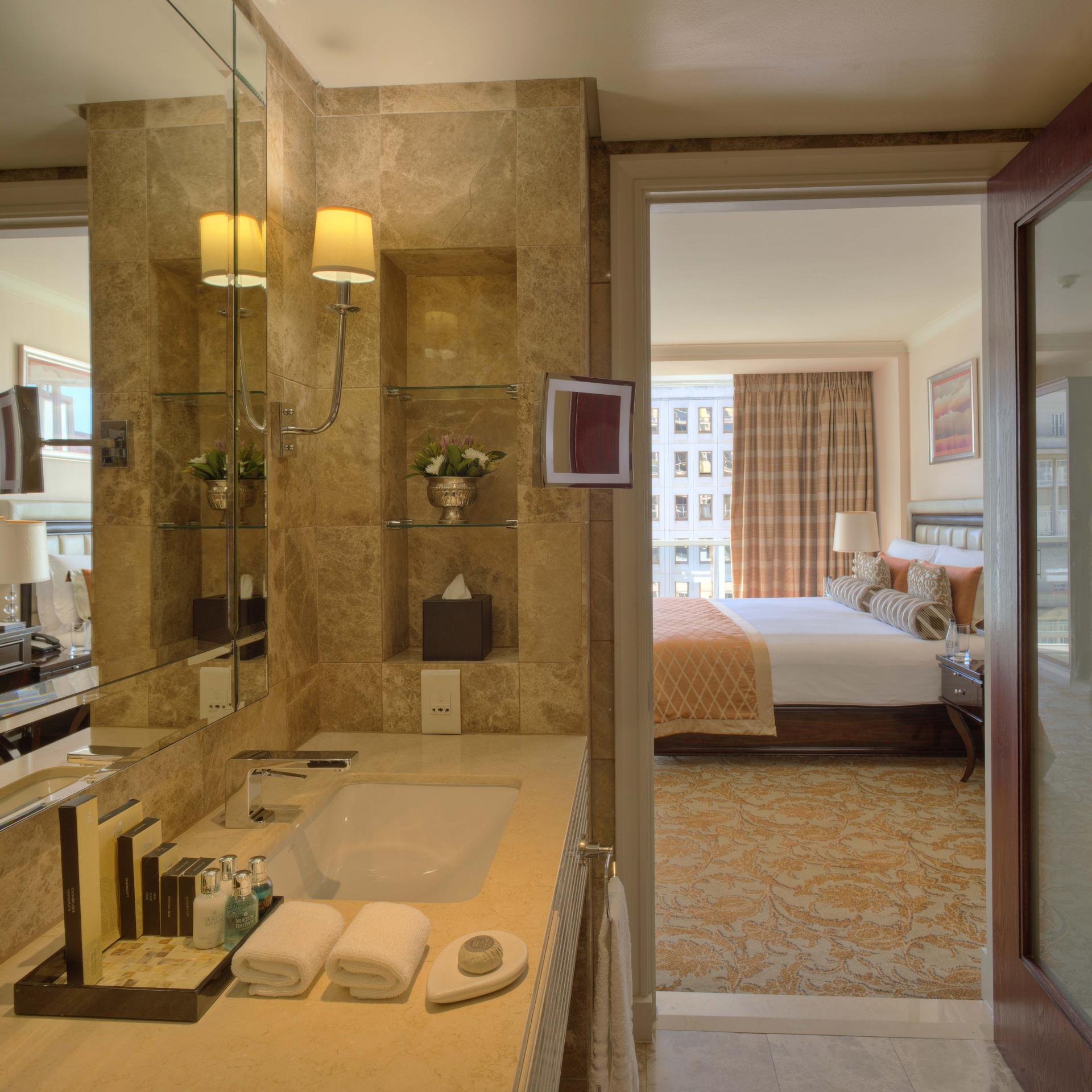 Ensuite Bathroom at Taj Cape Town, Centre, Cape Town