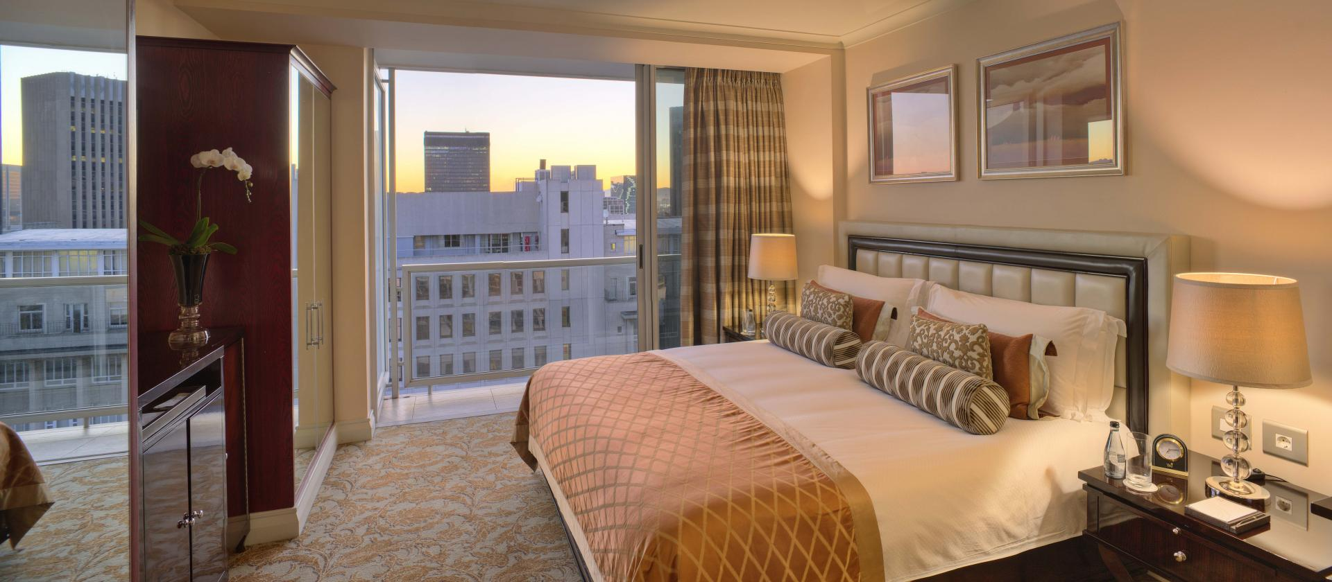 Master Bedroom at Taj Cape Town, Centre, Cape Town