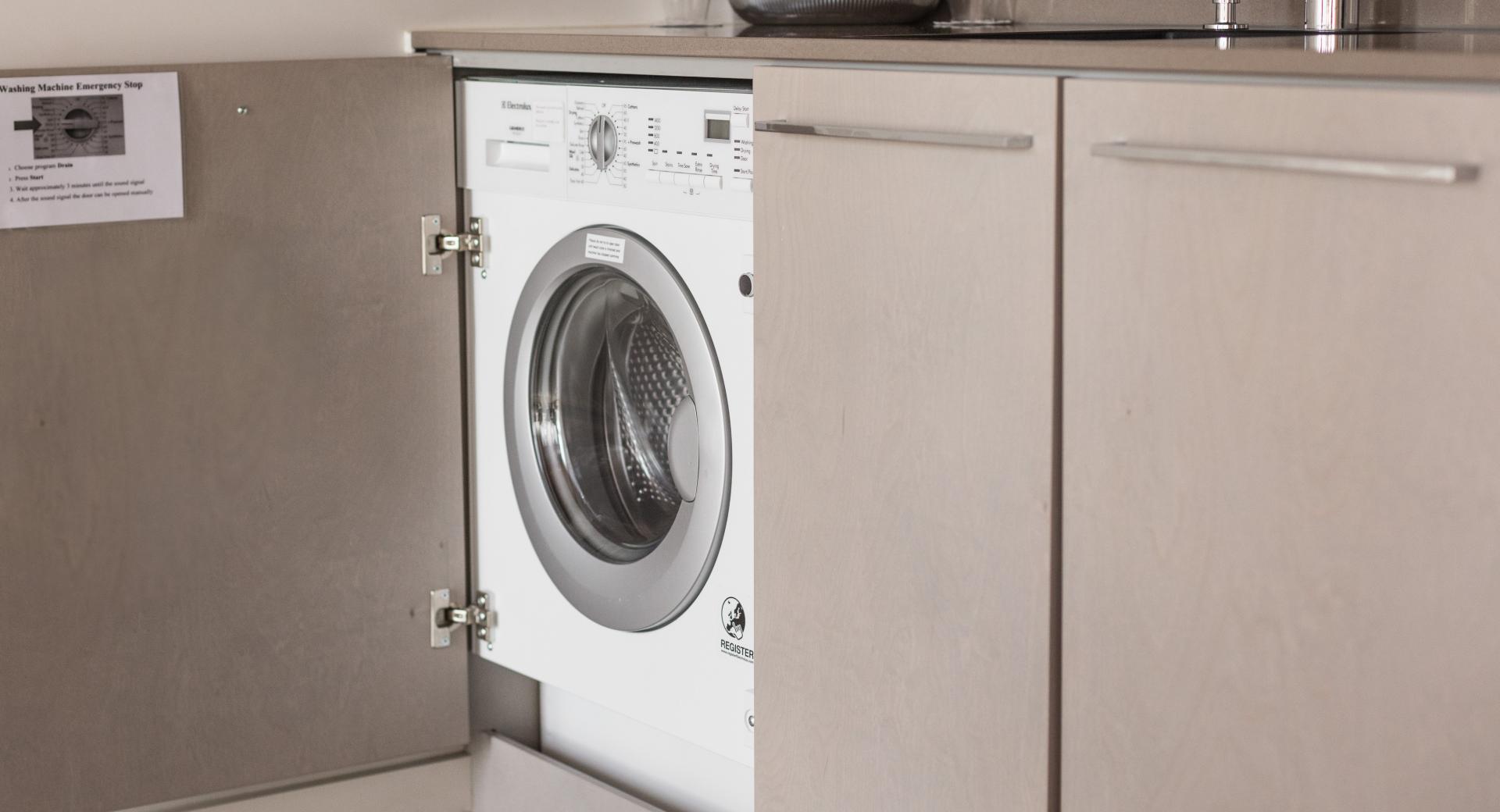 Washer/dryer in Beckenhofstrasse 22 Apartments