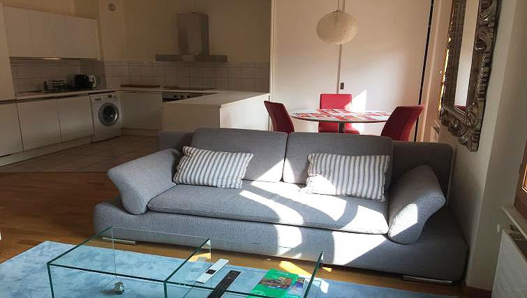 Living area at Baillive Apartment