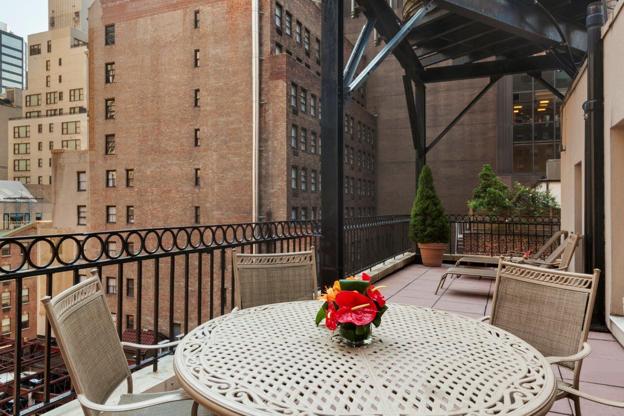 Balcony at Best Western Plus Hospitality House, Midtown East, New York