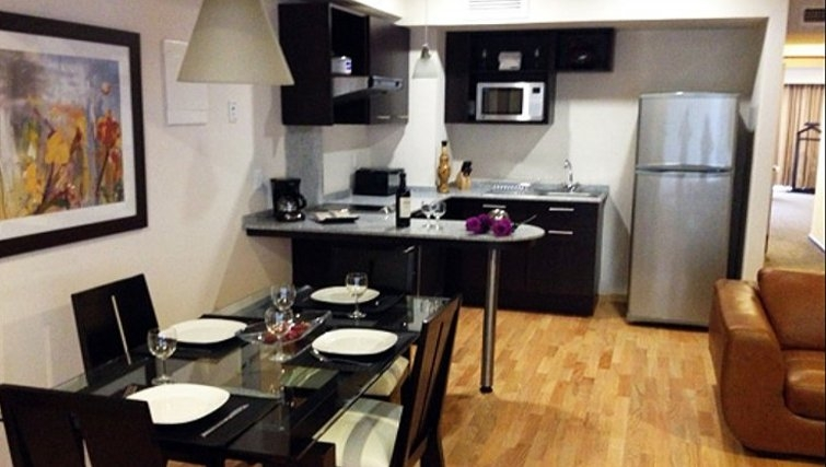 Ideal kitchen in St Isidro Apartments