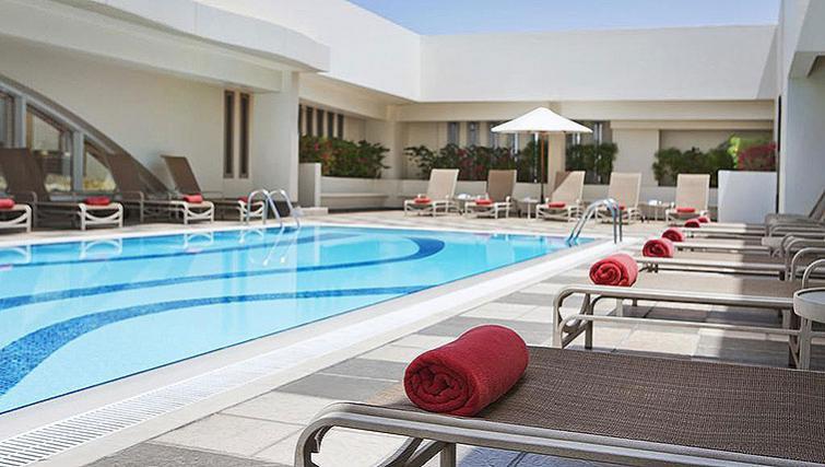 Stunning pool of Al Maha Arjaan Apartments