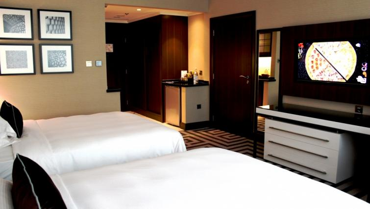 Beds at Al Maha Arjaan Apartments