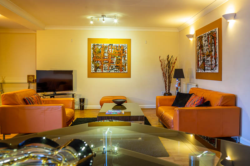 Sofas at Exeter Serviced Apartments, Centre, Exeter