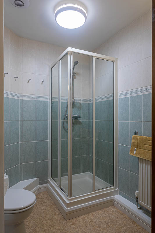Shower at Exeter Serviced Apartments, Centre, Exeter