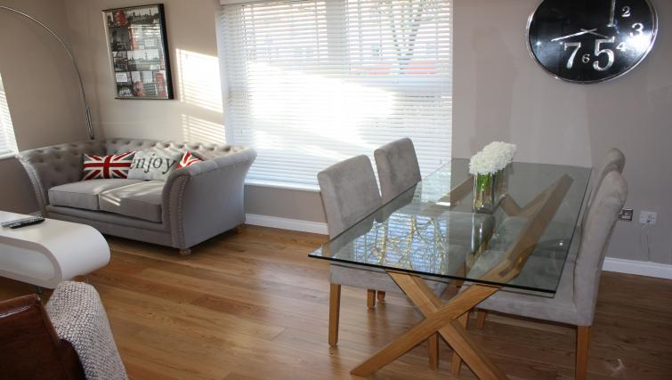 Dining area at Chesterton Place Apartment
