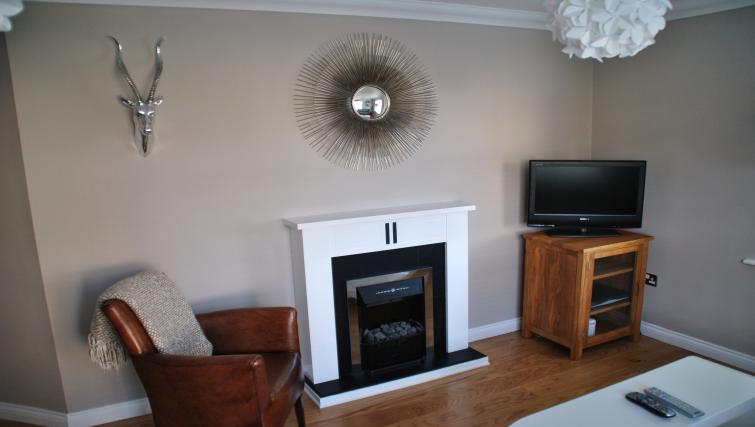 Fireplace at Chesterton Place Apartment