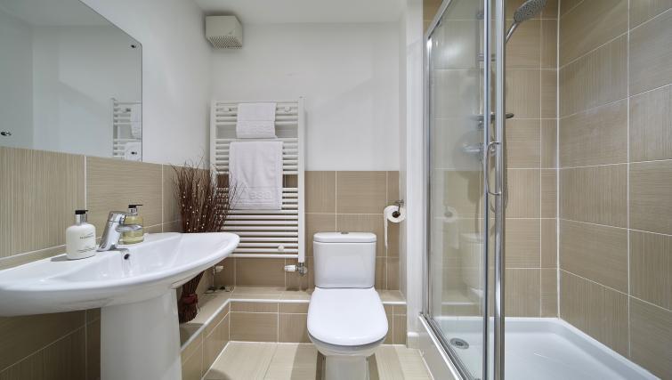 Contemporary bathroom at Heron House