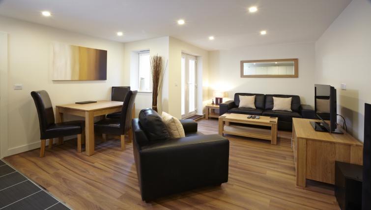 Spacious lounge at Heron House
