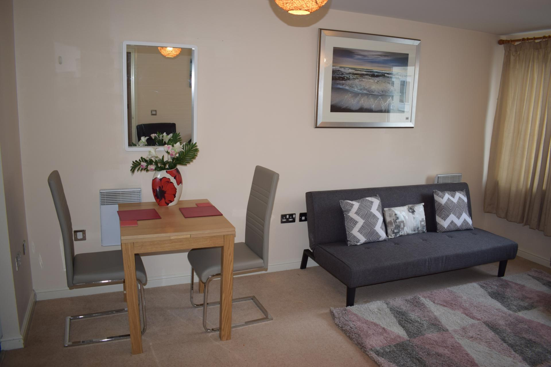 Dining area at Queensgate Apartments, Centre, Watford
