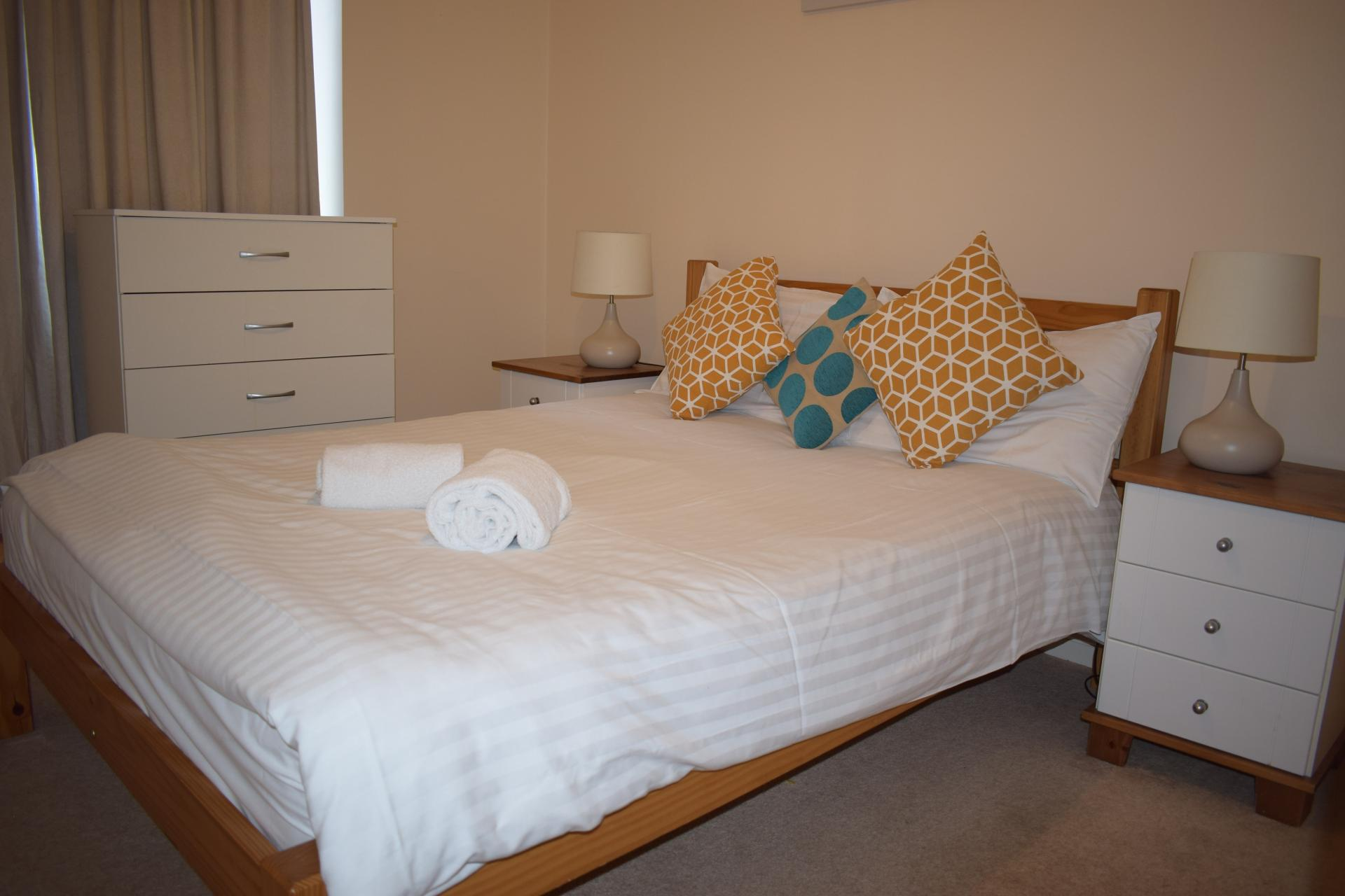 Bedroom at Queensgate Apartments, Centre, Watford