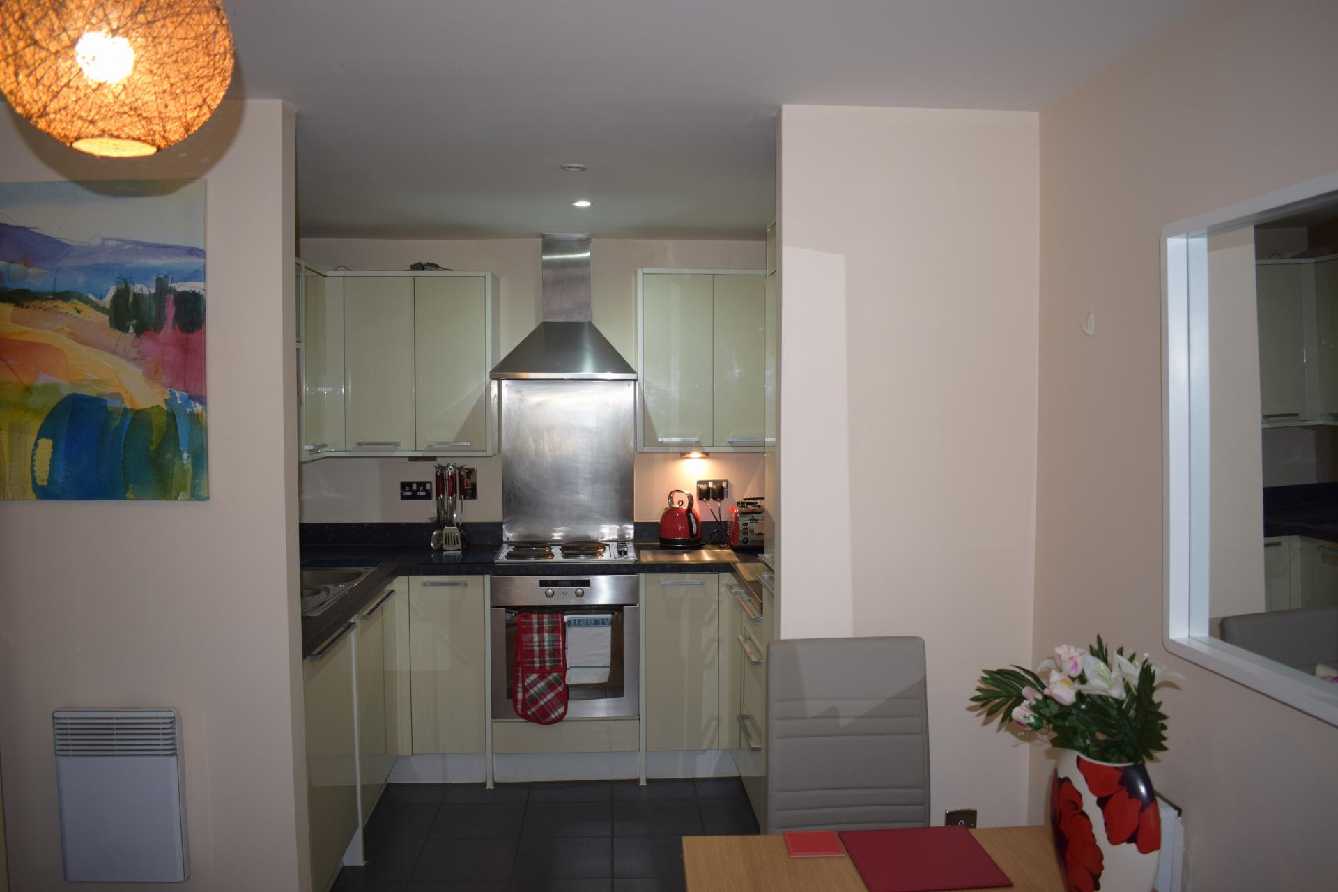 Kitchen diner at Queensgate Apartments, Centre, Watford