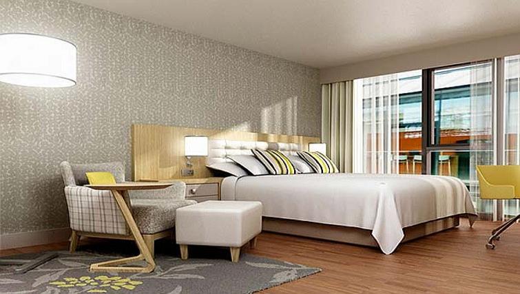 Delightful bedroom in Residence Inn Edinburgh