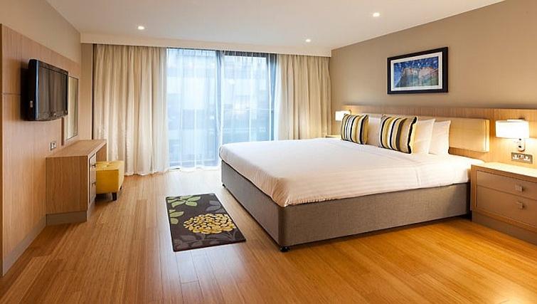 Exquisite bedroom in Residence Inn Edinburgh