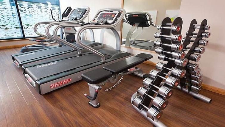 Well equipped gym in Residence Inn Edinburgh