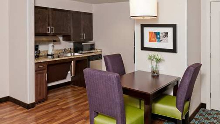 Shimmering kitchen in Homewood Suites Boston/Canton
