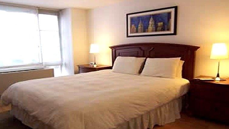 Cosy bedroom in Casa 1 Apartments