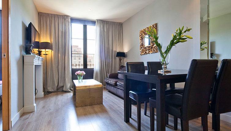 Lounge at Grandom Suites Barcelona