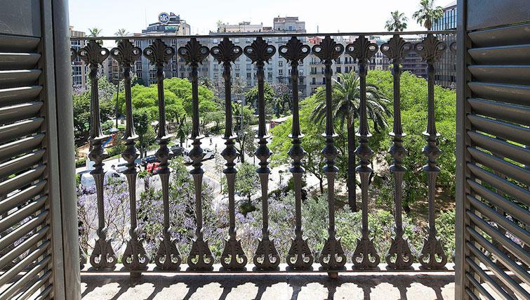 View from apartment at Grandom Suites Barcelona