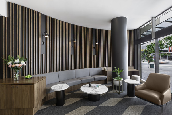 Lobby at Mantra Chatswood, North Ryde, Sydney