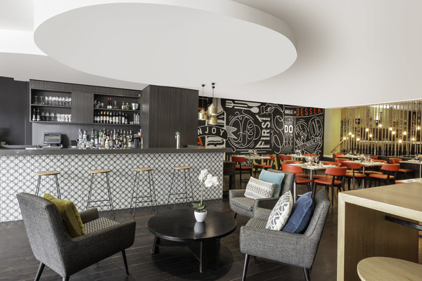 Communal space at Mantra Chatswood, North Ryde, Sydney