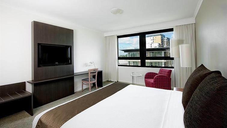 Bedroom at Mantra Parramatta