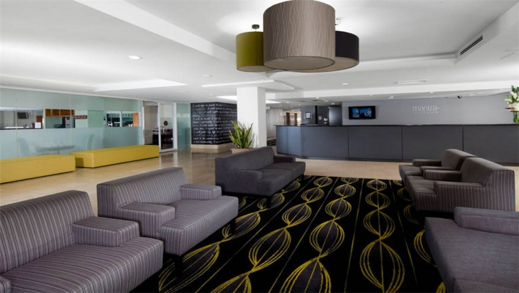 Lobby area at Mantra on Northbourne