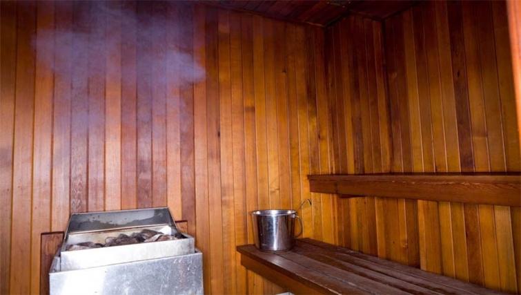 Sauna at Mantra on Northbourne