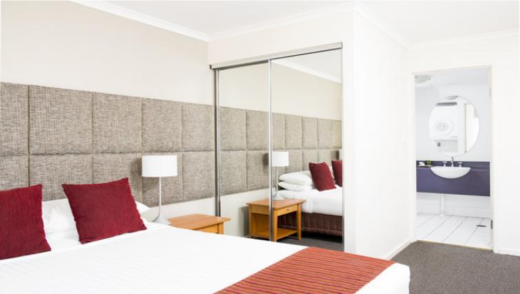 Bedroom at Mantra on Northbourne