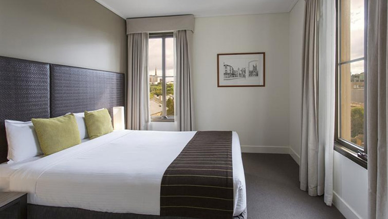 Bedroom at Mantra on Jolimont