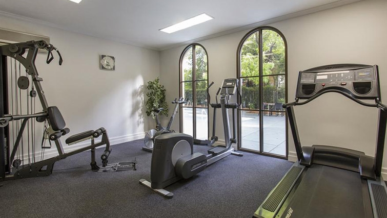 Fitness centre at Mantra on Jolimont