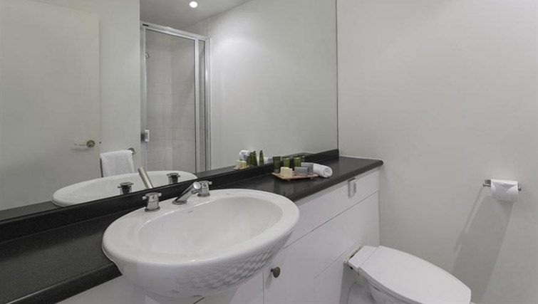 Bathroom at Mantra on Jolimont