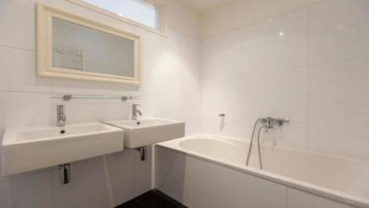 Bathroom at Executive Apartments, Amsterdam