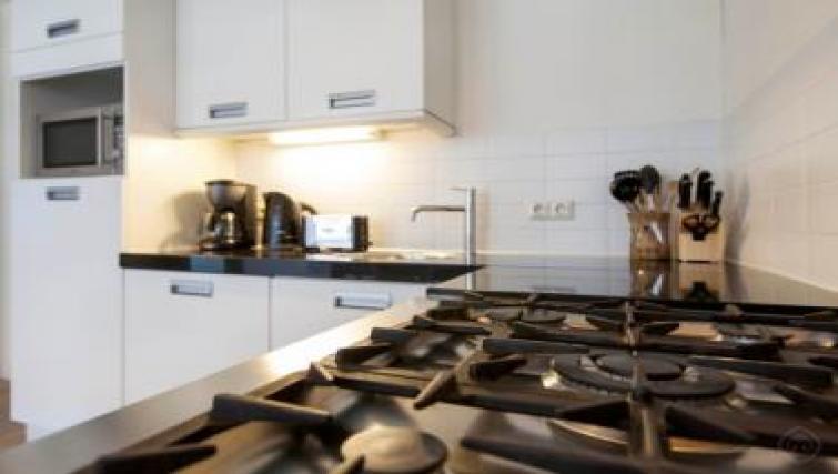 Kitchen at Executive Apartments, Amsterdam